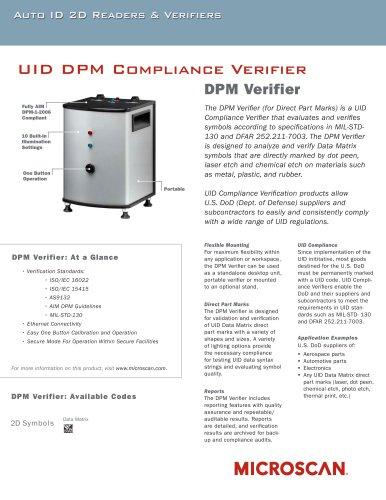 UID DPM Compliance Verifier