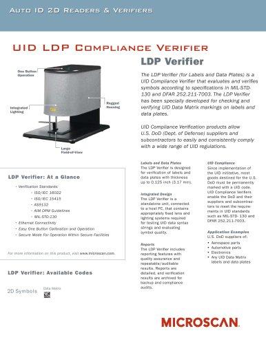 UID LDP Compliance Verifier