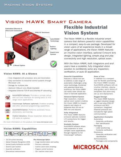 Vision HAWK Smart Camera