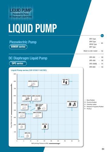 Bimor Piezoelectric Liquid Pumps