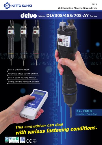 Delvo Multifunction Electric Screwdriver