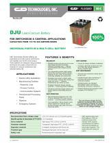DJU Lead-Calcium Battery - 1