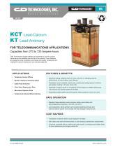 KCT Lead-Calcium KT Lead-Antimony - 1