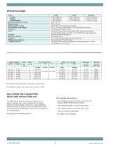 KCT Lead-Calcium KT Lead-Antimony - 2