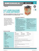 LCT LEAD-CALCIUM LT LEAD-ANTIMONY - 1