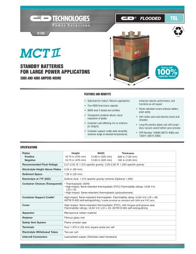 MCT II Batteries