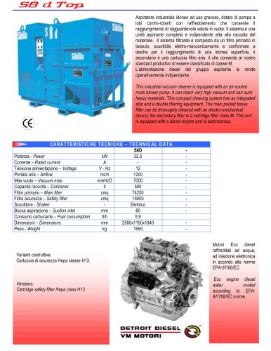 Centralised Industrial Vacuum Cleaner