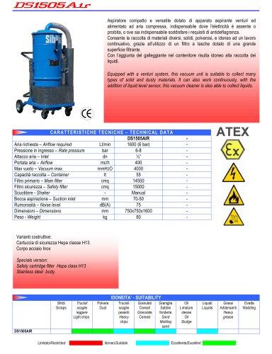 Compact vacuum unit