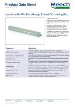 Hyperion 924IPS Short-Range Pulsed DC Ionising Bar