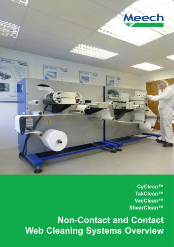 Meech Web Cleaning Systems Overview Brochure