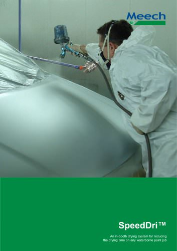 SpeedDri - An in-booth drying system for reducing the drying time on any waterborne paint job