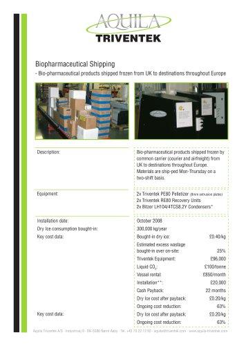 Biopharmaceutical shipping - case study