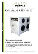 CO2 Recovery unit RE80/160 UNI
