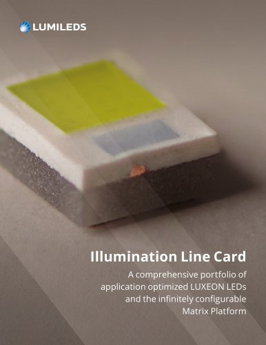 Illumination Line Card