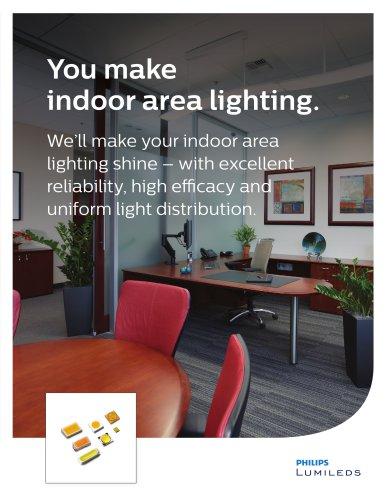 Indoor Area Lighting Application Solutions