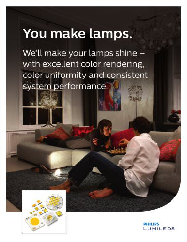 Lamps Application Solutions