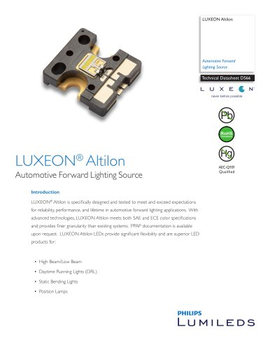 LUXEON® Altilon  Automotive Forward Lighting Source