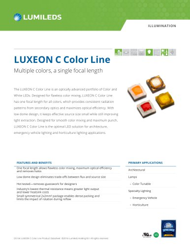 LUXEON C Color Line