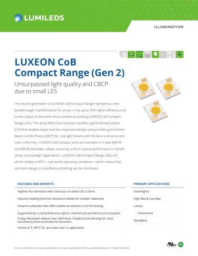 LUXEON CoB Compact Range (Gen 2)