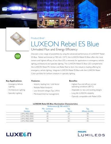 LUXEON Rebel ES Blue
