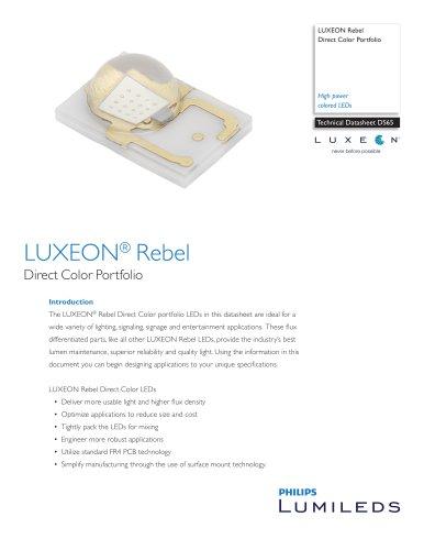 LUXEON® Rebel LUXEON Rebel Direct Color Portfolio