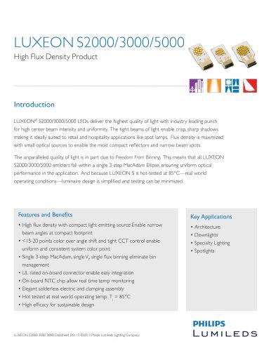 LUXEON S2000, S3000, S5000