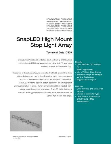 SnapLED High Mount Stop Light Array