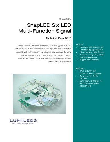 SnapLED Six LED Multi-Function Signal