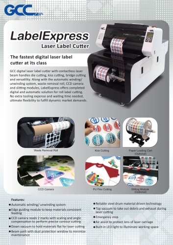 Label Express - GCC - PDF Catalogs | Technical Documentation
