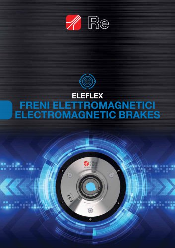 ELECTROMAGNETIC BRAKES AND CLUTCHES - ELEFLEX
