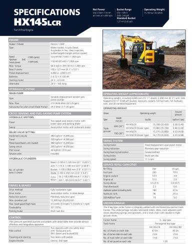 HX145LCR