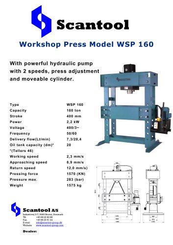 Workshop Press Model WSP 160