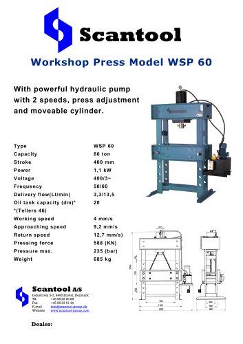 Workshop Press Model WSP 60
