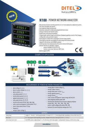 Datasheet N100