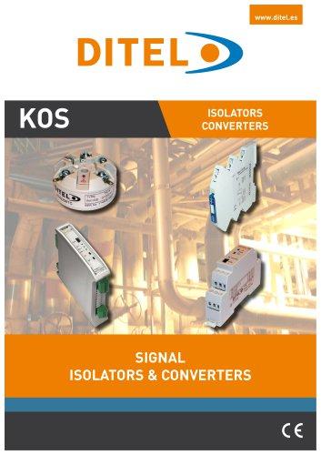 KOS Isolators & Converters