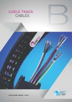 Cable track cables