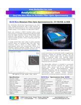 BLUE-Wave Miniature Fiber Optic Spectrometers for UV-VIS-NIR & OEM