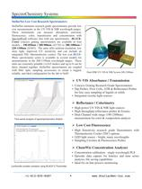 SpectroChemistry Systems (UV-VIS-NIR)