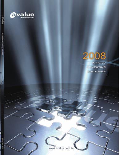 2008 Avalue Catalog ver. 2.0