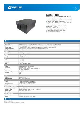 BAX-P501-C236