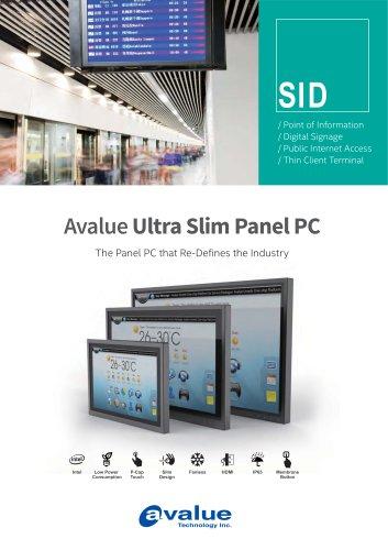 Ultra Slim Panel PC-SID Series Brochure