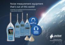 Pulsar noise at work measurement products