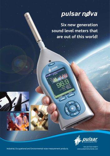 The Pulsar Nova Range of Sound Level Meters