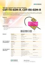 CDT-TX-02M-R / CDT-RX-02M-R