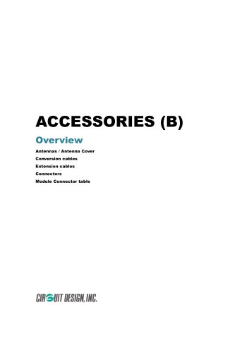 Low power radio module accessories