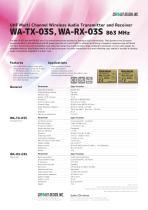 WA-TX-03S, WA-RX-03S