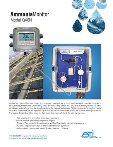 Ammonia Monitor Model Q46N