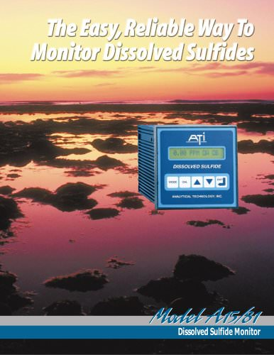 Analytical Technology A15/81 Dissolved Sulfide Monitor