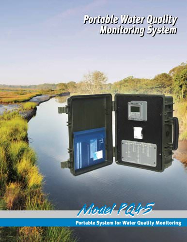 Analytical Technology PQ45 Portable Monitor & Data-Logger System