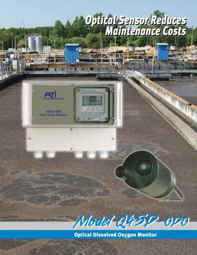 Analytical Technology Q45D-ODO Optical Dissolved Oxygen Monitor